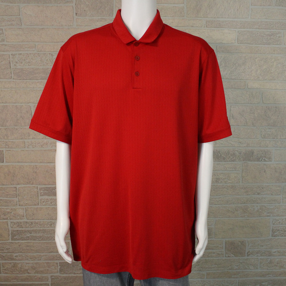 99315d67032af Nike Golf Tour Performance DriFit Red Polo Shirt